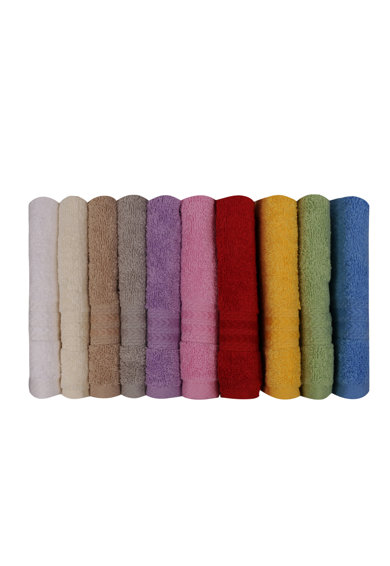Hobby Rainbow 9 darabos törölköző készlet, 100% pamut, 30 x 50 cm, Többféle színben férfi