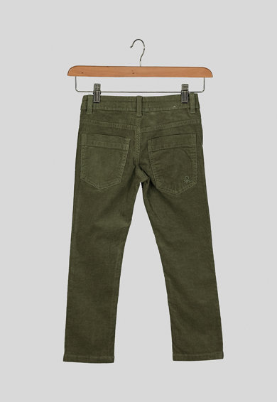United Colors of Benetton Pantaloni slim fit din reiat Baieti