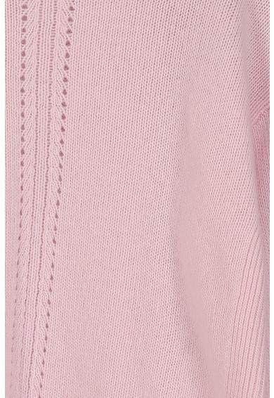 United Colors of Benetton Pulover asimetric din amestec de lana Fete