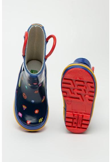 United Colors of Benetton Cizme de ploaie cu imprimeu Baieti