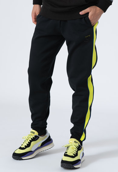 Puma Pantaloni sport cu segmente elastice la nivelul gleznei T7 Barbati
