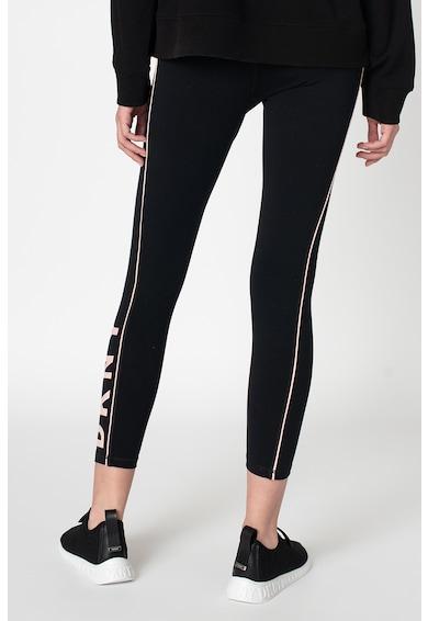 DKNY Colanti cu logo lateral si snur de ajustare Femei