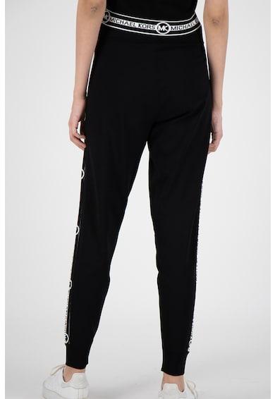 Michael Michael Kors Pantaloni sport cu snur de ajustare si logo pe partile laterale Femei