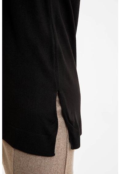 DeFacto Pulover lung cu slituri laterale Femei