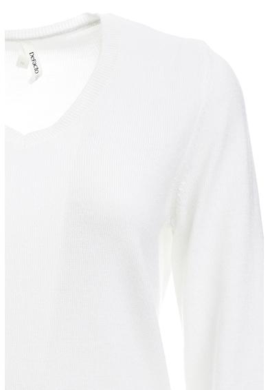 DeFacto Pulover tricotat fin cu decolteu en-coeur Femei