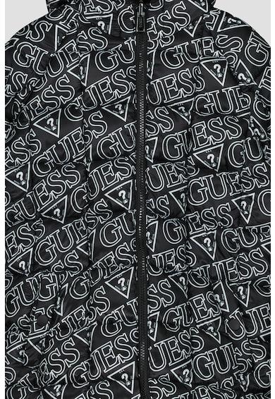 GUESS JEANS Kifordítható bélelt télikabát Fiú