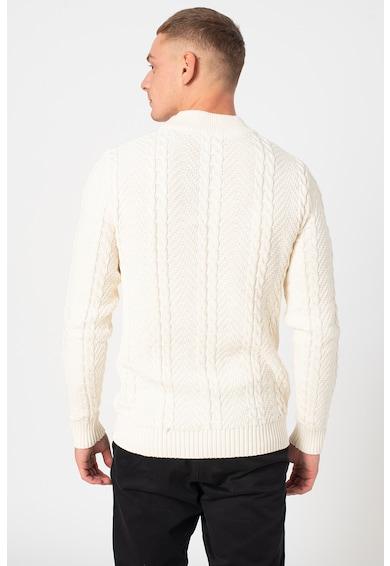 Jack&Jones Bluejulian csavart kötésmintás pulóver férfi