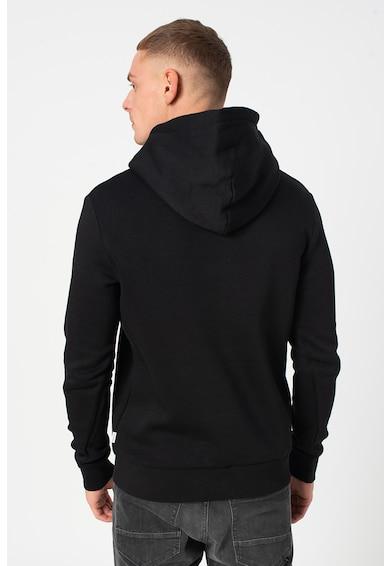 Jack&Jones Megkötős mintás kapucnis pulóver kenguruzsebbel férfi
