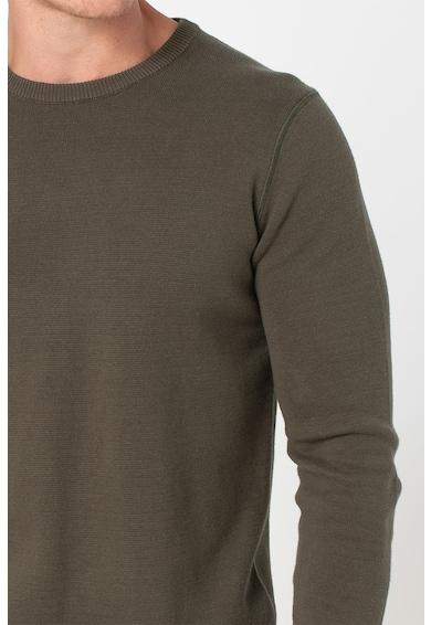 Only & Sons Pulover tricotat cu decolteu la baza gatului Robbie Barbati