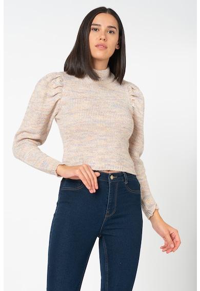 Only Marilla crop pulóver puffos ujjakkal női