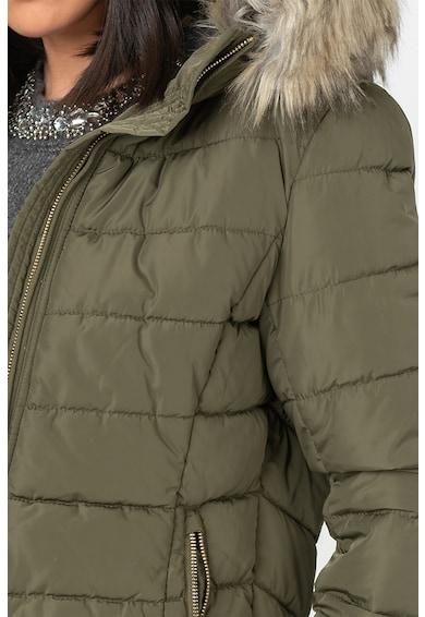 Only Geaca matlasata cu garnitura detasabila de blana sintetica Femei