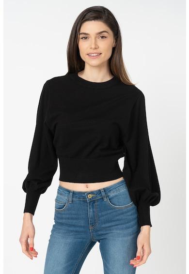 Only Belle Crop pulóver bő ujjakkal női