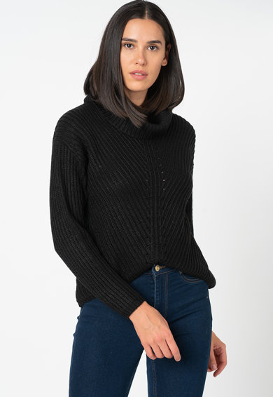Only Courtney garbónyakú pulóver ejtett ujjakkal női