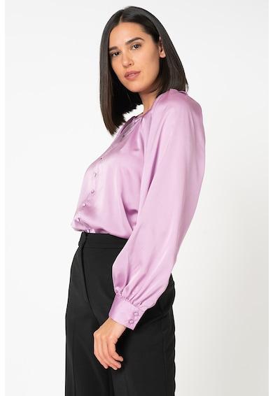 Vero Moda Bluza din satin cu nasturi decorativi Billi Femei