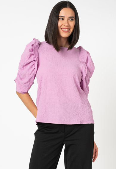 Vero Moda Bluza cu maneci bufante Luna Femei