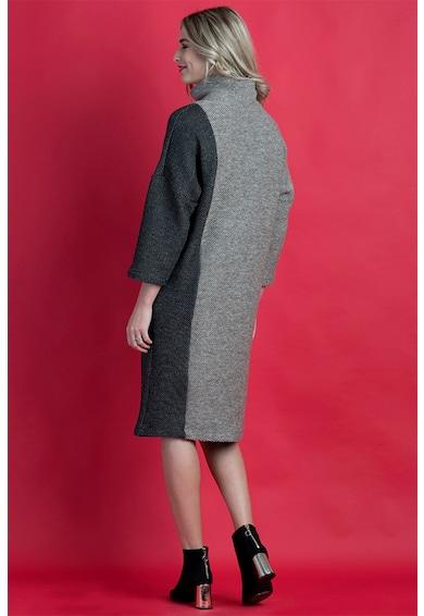 Format Lady Rochie cu guler inalt si buzunar lateral Femei