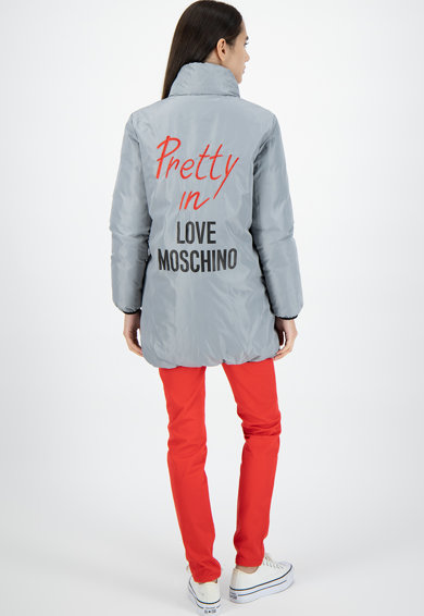 Love Moschino Geaca reversibila Femei