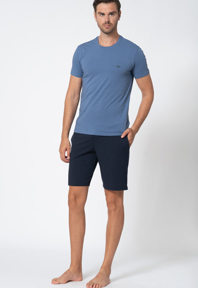Emporio Armani Underwear Pijama cu pantaloni scurti Barbati