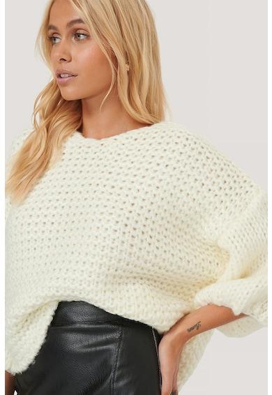 NA-KD Pulover supradimensionat cu aspect de tricot masiv Femei