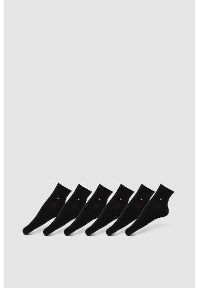 Tommy Hilfiger Set de sosete scurte din amestec de bumbac - 6 perechi Barbati