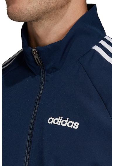 adidas Performance Bluza sport cu fermoar si detaliu logo pe piept Sereno 19 Barbati