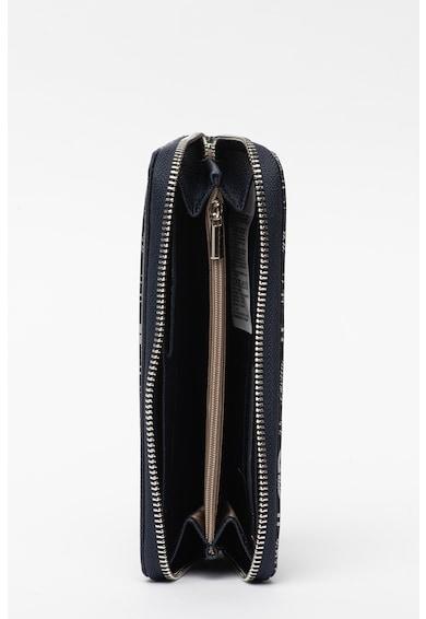 U.S. Polo Assn. Portofel din piele ecologica cu model monograma Femei