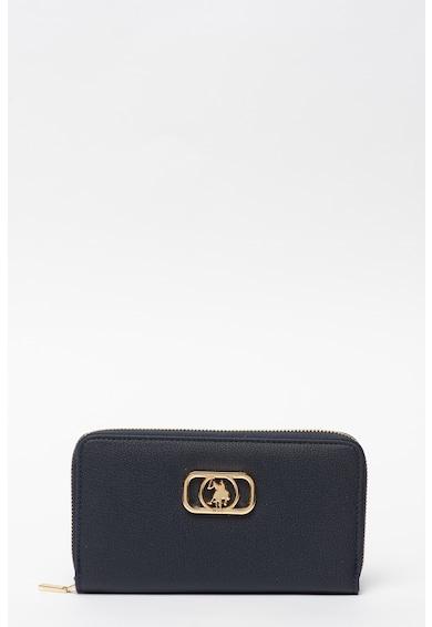 U.S. Polo Assn. Portofel din piele ecologica cu aspect texturat Femei