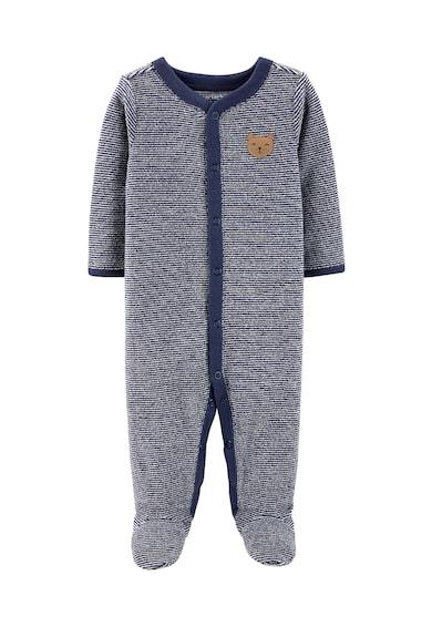 Carter's Salopeta de pijama cu botosei si model in dungi Fete