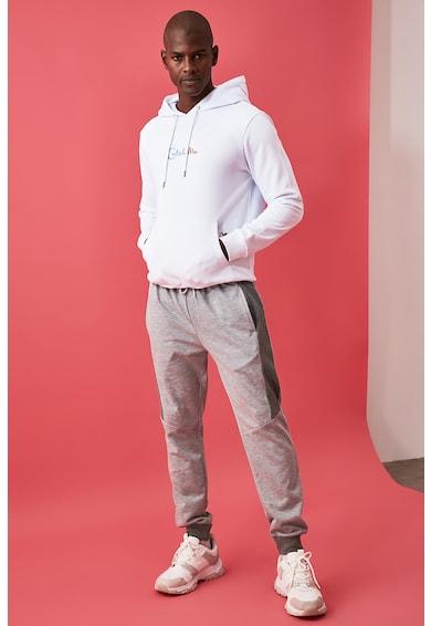 Trendyol Pantaloni sport cu insertii contrastante Barbati