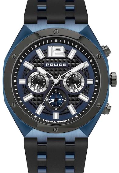 Police Ceas cronograf cu o curea din silicon Barbati