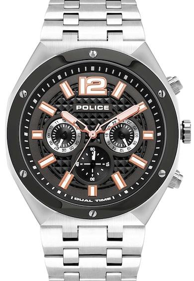 Police Ceas cronograf cu bratara metalica Barbati