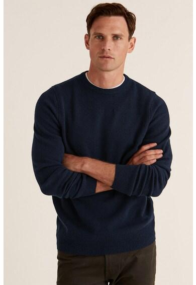 Marks & Spencer Pulover din lana cu decolteu la baza gatului Barbati