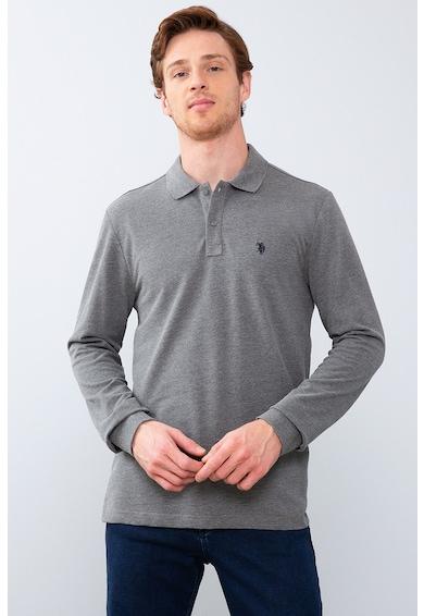 U.S. Polo Assn. Bluza polo cu logo brodat Barbati