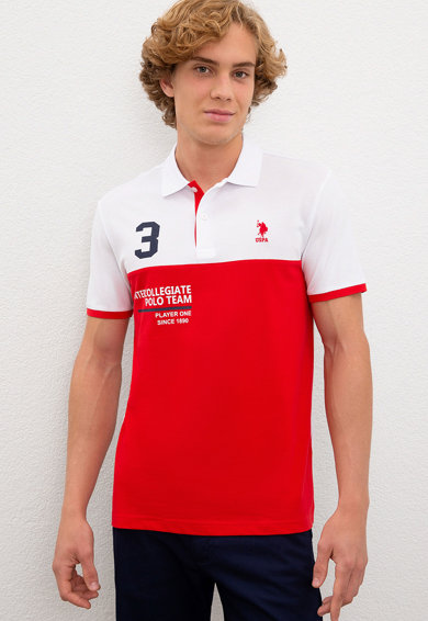 U.S. Polo Assn. Tricou polo slim fit G Barbati