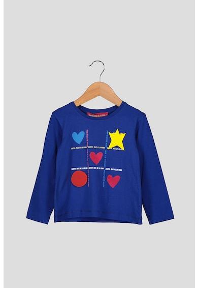 Agatha Ruiz de la Prada Bluza cu imprimeu grafic si logo Fete
