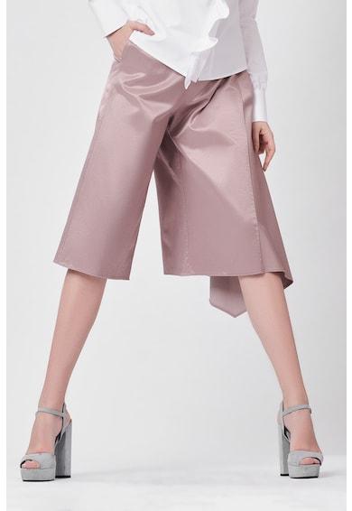 DALB Pantaloni trei sferturi cu terminatie asimetrica Femei