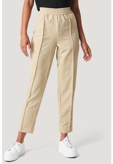 NA-KD Pantaloni crop cu croiala dreapta Femei