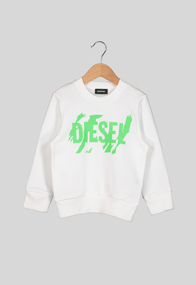 Diesel Bluza sport cu logo Fete