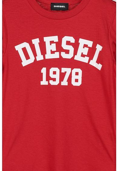 Diesel Buza de bumbac cu imprimeu logo Fete