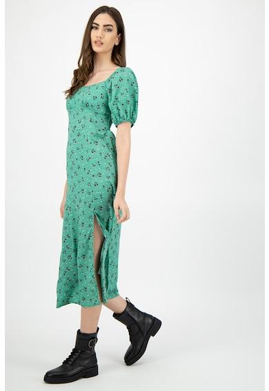 Missguided Rochie cu model floral si slit adanc in lateral Femei