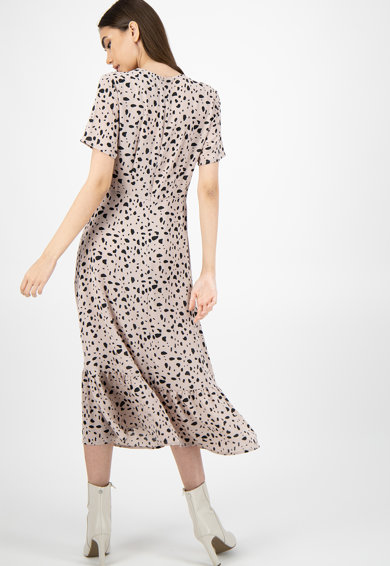 Missguided Rochie midi cu model abstract Femei