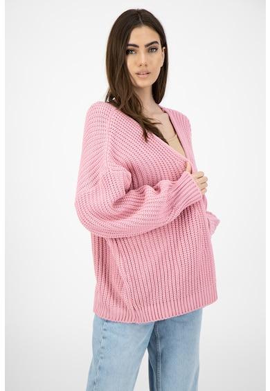 Missguided Cardigan supradimensionat tricotat gros Femei