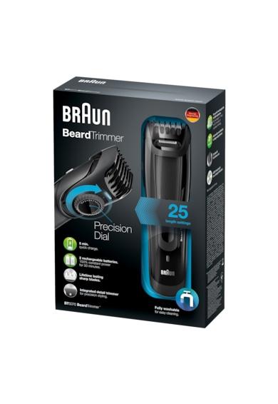 Braun Aparat de tuns barba  BT5070, Sistem Slide&Style, 25 setari lungime, Lavabil, Negru Barbati