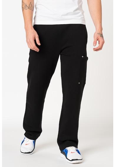 Versace Jeans Straight fit szabadidőnadrág logós pánttal férfi