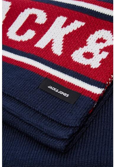 Jack&Jones Fular circular din tricot cu model logo Barbati