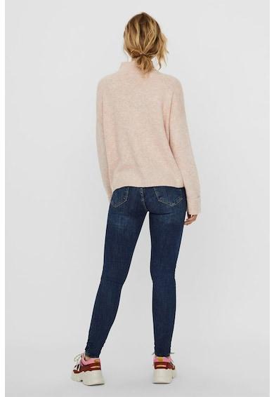 Vero Moda Pulover din amestec de lana cu guler mediu Plaza Femei