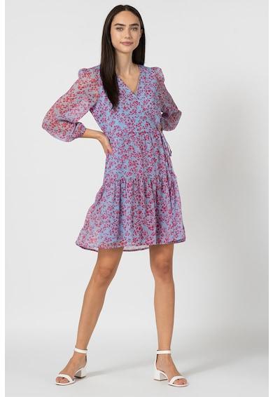 Vero Moda Rochie cu croiala petrecuta si model floral Wonda Femei