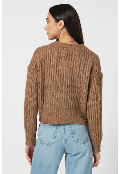 Only Pulover din amestec de lana cu maneci cazute New Femei