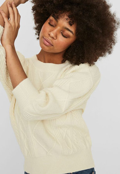 Vero Moda Pulover cu model torsade Femei