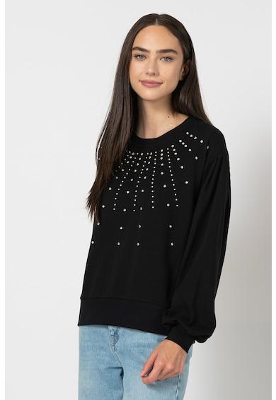 Vero Moda Bluza sport decorata cu strasuri si margele Denise Femei